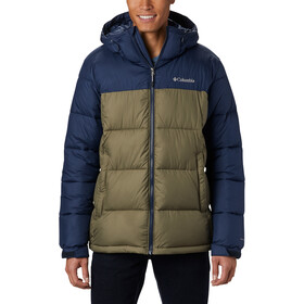 Columbia Pike Lake Capuchon Jas Heren, stone green/collegiate navy
